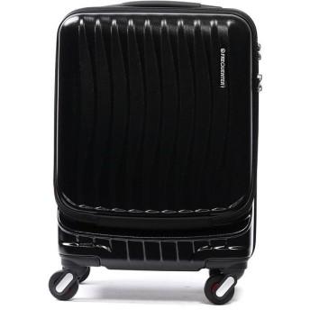 ギャレリア フリクエンター FREQUENTER スーツケース CLAM ADVANCE キャリーケース 機内持ち込み 34L 1 216 ユニセックス ブラック F 【GALLERIA】