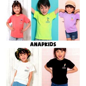 ANAP KIDS アナップキッズ 5パターン・サマーワンポイントTシャツ
