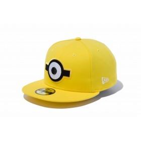【ニューエラ公式】 59FIFTY ミニオン スチュアート イエロー メンズ レディース 7 1/4 (57.7cm) キャップ 帽子 11909219 コラボ NEW ERA