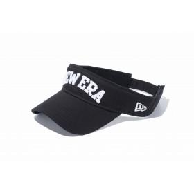 【ニューエラ公式】 ゴルフ サンバイザー NEW ERA ブラック × ホワイト メンズ レディース 55.8 - 59.6cm キャップ 帽子 11598164 NEW ERA