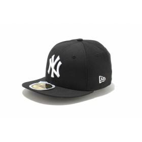 Kid's 59FIFTY ニューヨーク・ヤンキース ブラック × ホワイト