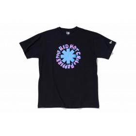 【ニューエラ公式】 ストア限定 コットン Tシャツ Red Hot Chili Peppers ロゴ 1st カラー ブラック メンズ レディース Small 半袖 Tシャツ 11895234 コラボ NEW ERA