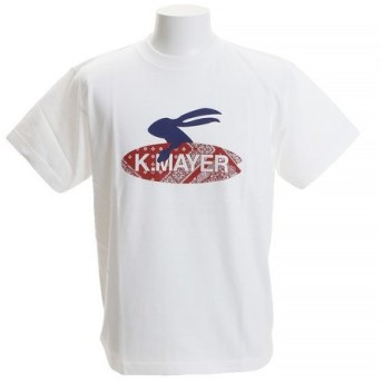 クリフメイヤー(KRIFF MAYER) ロゴTシャツ SURF 1819907-1-WHT (Men's)
