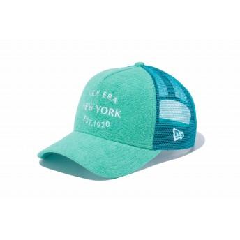 NEW ERA ニューエラ 9FORTY A-Frame トラッカー ニューエラ ニューヨーク 1920 パイル ミントグリーン × スノーホワイト アジャスタブル サイズ調整可能 ベースボールキャップ キャップ 帽子 メンズ レディース 56.8 - 60.6cm 11899215 NEWERA メッシュキャップ