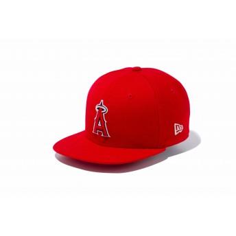 NEW ERA ニューエラ キッズ 9FIFTY ロサンゼルス・エンゼルス レッド × チームカラー スナップバックキャップ アジャスタブル サイズ調整可能 ベースボールキャップ キャップ 帽子 男の子 女の子 49.2 - 53cm 11901148 NEWERA
