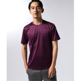 EDIFICE CITA / チータ クルーネック ポケット Tシャツ ボルドー 48