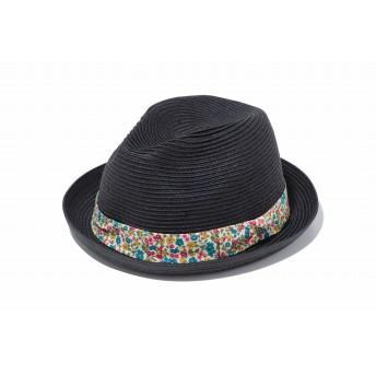 NEW ERA ニューエラ フェドーラ フラワーバンド ブラックペーパーロープ フローラルバンド 中折れハット ハット 帽子 メンズ レディース L (59cm) 11899141 NEWERA