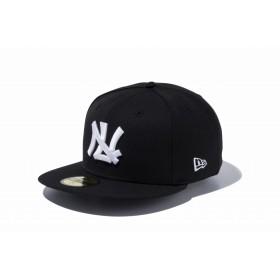 NEW ERA ニューエラ 59FIFTY NPBクラシック 西鉄ライオンズ ブラック × ホワイト ベースボールキャップ キャップ 帽子 メンズ レディース 7 (55.8cm) 11121863 NEWERA