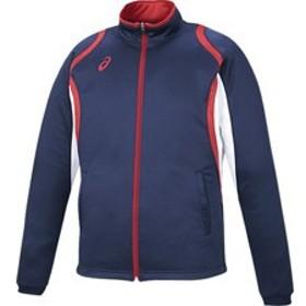 asics アシックス オールスポーツ デコトレーニングジャケット XAT12D-50 ネイビー 男女兼用 アパレル お取り寄せ商品