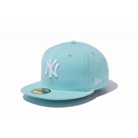 【ニューエラ公式】 59FIFTY MLB ニューヨーク・ヤンキース ブルーティント × ホワイト メンズ レディース 7 (55.8cm) MLB キャップ 帽子 11308580 NEW ERA