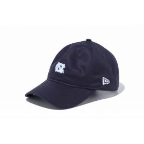 【ニューエラ公式】 9THIRTY クロスストラップ ノースカロライナ大学 ネイビー × オフィシャルロゴカラー メンズ レディース 56.8 - 60.6cm キャップ 帽子 11903769 コラボ NEW ERA