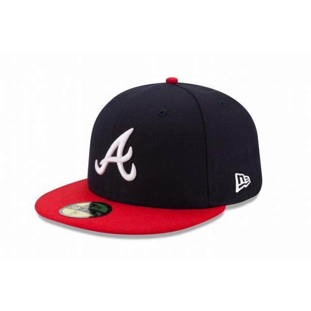 eb6463421e277 【ニューエラ公式】 59FIFTY MLB オンフィールド アトランタ・ブレーブス ホーム メンズ レディース 7 (