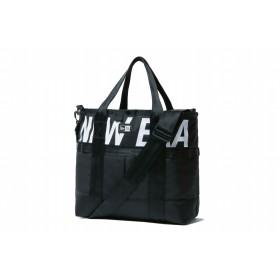 【ニューエラ公式】 トートバッグ 22L プリントロゴ ブラック × ホワイト メンズ レディース ワンサイズ トート 11901468 NEW ERA