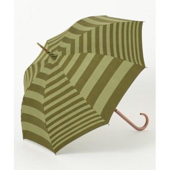【オンワード】 MOONBAT(ムーンバット) Cocca 晴雨兼用 長傘 ダークグリーン F レディース 【送料無料】