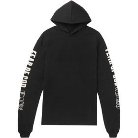 《期間限定 セール開催中》FEAR OF GOD メンズ スウェットシャツ ブラック M コットン 100%