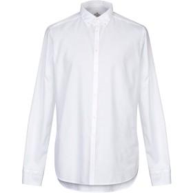 《期間限定 セール開催中》LIBERTY ROSE メンズ シャツ ホワイト 43 コットン 100%