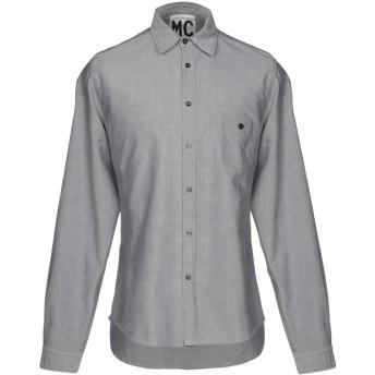 《セール開催中》MC MASTER OF CEREMONIES メンズ シャツ グレー III コットン 100%