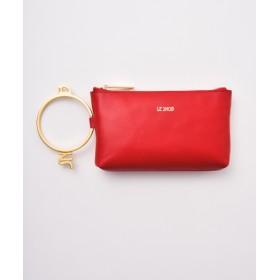 LESNOB 【LESNOB】ハンドバッグ RED F
