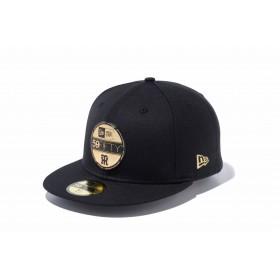 【ニューエラ公式】 59FIFTY NPB バイザーステッカー 阪神タイガース ブラック × ゴールド メンズ レディース 8 (63.5cm) NPB キャップ 帽子 11901318 NEW ERA