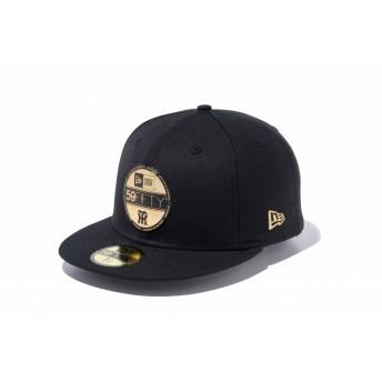 NEW ERA ニューエラ 59FIFTY NPB バイザーステッカー 阪神タイガース ブラック × ゴールド ベースボールキャップ キャップ 帽子 メンズ レディース 8 (63.5cm) 11901318 NEWERA