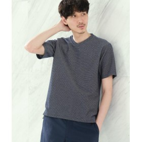 TAKEO KIKUCHI(タケオキクチ) ◆[大きいサイズ 速乾 防臭 フレT]メランジハニカムTシャツ