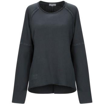 《期間限定セール開催中!》CROSSLEY レディース スウェットシャツ 鉛色 XS コットン 100%