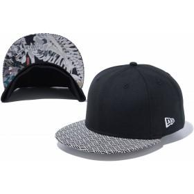 【ニューエラ公式】 ストア限定 59FIFTY 浮世絵 歌川国芳 相馬の古内裏 ブラック 小紋バイザー メンズ レディース 7 (55.8cm) キャップ 帽子 12024802 NEW ERA
