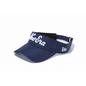 【ニューエラ公式】 ゴルフ サンバイザー New Eraオールドロゴ ネイビー × ホワイト メンズ レディース 55.8 - 59.6cm キャップ 帽子 11901075 NEW ERA