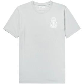 《送料無料》UNIVERSAL WORKS メンズ T シャツ ライトグレー XL コットン 100%