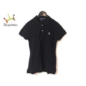 ポロラルフローレン POLObyRalphLauren 半袖ポロシャツ サイズXS レディース 美品 黒×白 新着 20190527