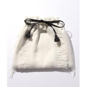 【55%OFF】 サミールナスリ Fringe Drawstring Bag レディース OWHITE F 【SMIR NASLI】 【タイムセール開催中】