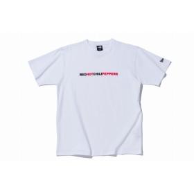 【ニューエラ公式】 ストア限定 コットン Tシャツ Red Hot Chili Peppers テキスト ホワイト メンズ レディース Small 半袖 Tシャツ 11895230 コラボ NEW ERA
