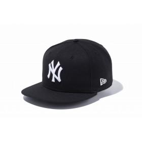 【ニューエラ公式】 9FIFTY ニューヨーク・ヤンキース ブラック × ホワイト メンズ レディース 57.7 - 61.5cm MLB キャップ 帽子 11308471 NEW ERA
