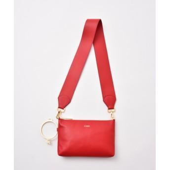 LESNOB 【LESNOB】ショルダーバッグ RED F