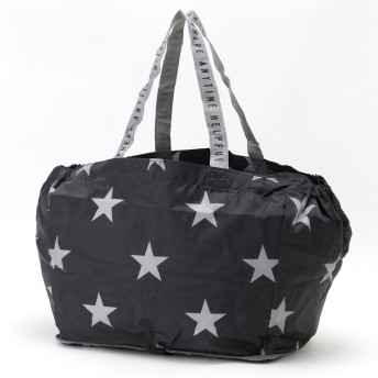 Chepeli シェペリ レジかごにつけられる コンパクト星柄ショッピングバッグ