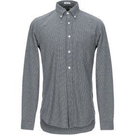 《期間限定セール開催中!》HARTFORD メンズ シャツ グレー XL コットン 100%