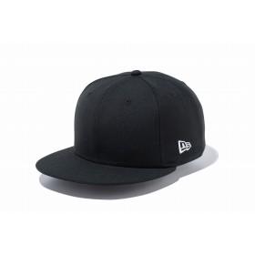 【ニューエラ公式】 9FIFTY ベーシック ブラック ホワイトフラッグ メンズ レディース 57.7 - 61.5cm キャップ 帽子 11914512 NEW ERA
