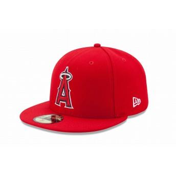 NEW ERA ニューエラ 59FIFTY MLBオンフィールド ロサンゼルス・エンゼルス ゲーム ベースボールキャップ キャップ 帽子 メンズ レディース 7 (55.8cm) 11449402 NEWERA