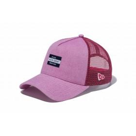 【ニューエラ公式】 9FORTY A-Frame トラッカー オックスフォード ウォッシャー ニューエラ ニューヨーク 1920 ラベル レッド メンズ レディース 56.8 - 60.6cm キャップ 帽子 11899202 NEW ERA メッシュ