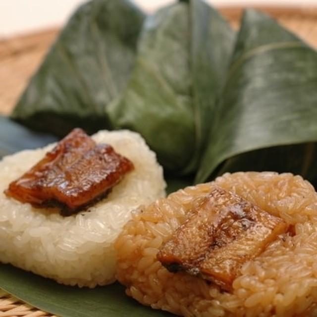 四万十黒餅米使用 地然うなぎちまき計6個(タレ・塩)
