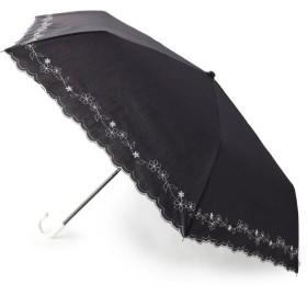 SOUP(スープ) 晴雨兼用刺繍フラワー折り畳み傘