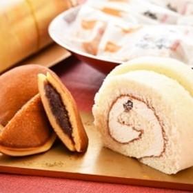神子原米ロールケーキと神子原米どら焼きの詰め合わせ