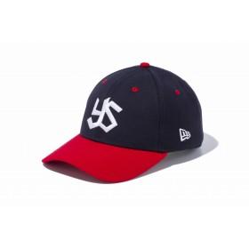 【ニューエラ公式】 9FORTY NPBクラシック ヤクルトスワローズズ ネイビー × ホワイト スカーレットバイザー メンズ レディース 56.8 - 60.6cm NPB キャップ 帽子 11433982 NEW ERA
