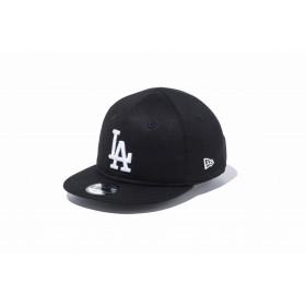 【ニューエラ公式】キッズ My 1st 9FIFTY ロサンゼルス・ドジャース ブラック × ホワイト 男の子 女の子 48.3 - 50.1cm MLB キャップ 帽子 11596307 NEW ERA
