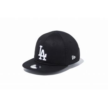 NEW ERA ニューエラ キッズ My 1st 9FIFTY ロサンゼルス・ドジャース ブラック × ホワイト スナップバックキャップ アジャスタブル サイズ調整可能 ベースボールキャップ キャップ 帽子 男の子 女の子 48.3 - 50.1cm 11596307 NEWERA