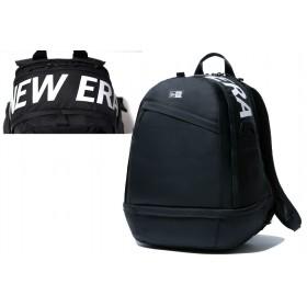【ニューエラ公式】 スポーツパック 31L プリントロゴ ブラック × ホワイト メンズ レディース ワンサイズ バックパック 11901480 NEW ERA リュック