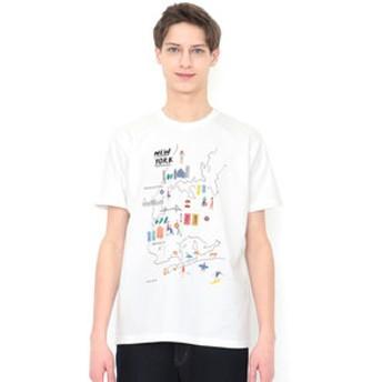 【グラニフ:トップス】グラニフ Tシャツ メンズ レディース 半袖 ニューヨーク(ローラユンガー)