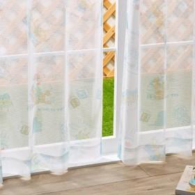 トイストーリー レースカーテン 2枚組 幅100cm 丈135cm 丈178cm 丈200cm 洗える ウォッシャブル 北欧 Disney ディズニー 代引不可