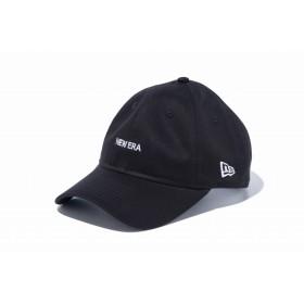 【ニューエラ公式】 9THIRTY クロスストラップ NEW ERA ミニロゴ ブラック × ホワイト メンズ レディース 56.8 - 60.6cm キャップ 帽子 12026717 NEW ERA