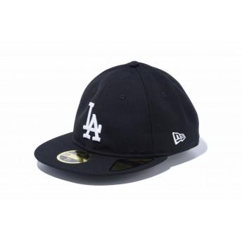 NEW ERA ニューエラ RC 59FIFTY ロサンゼルス・ドジャース ブラック × ホワイト ベースボールキャップ キャップ 帽子 メンズ レディース 7 (55.8cm) 12018899 NEWERA
